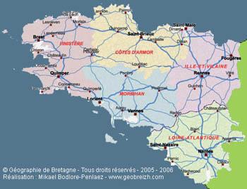 quimper region bretagne