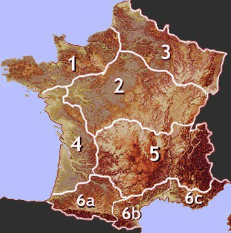 Map Of Northwest France.Self Catering Holiday Cottage Rentals In Northwest France Gitelink