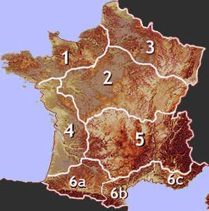 Map Of Areas Of France.Brittany Gites 1 Finistere Cotes D Armor