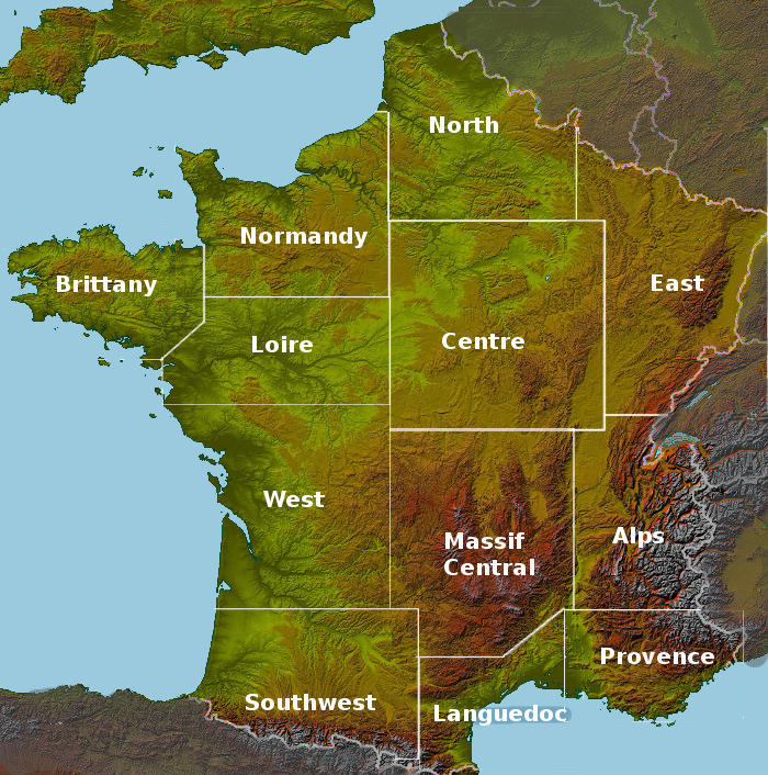 Gites and b b locator maps for france for B b gites france