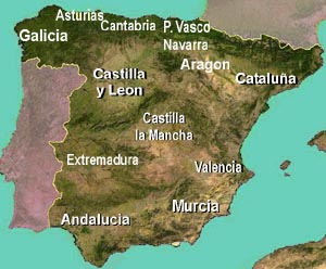 The Regions of Spain a short guide